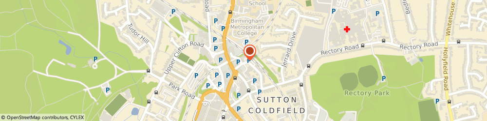 Route/map/directions to Marks & Co, B72 1TX Sutton Coldfield, 6 Trinity Place, Midland Drive