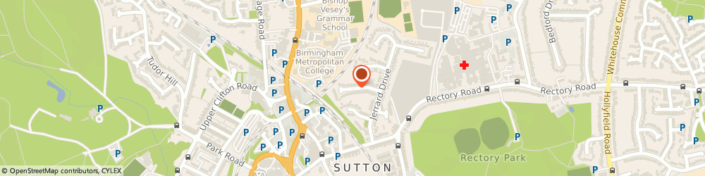 Route/map/directions to L M C SURVEYING LIMITED, B75 7TF Sutton Coldfield, 26 South Drive