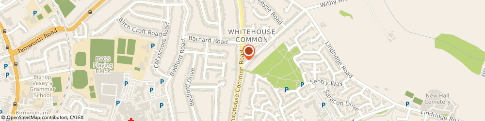 Route/map/directions to Allied Healthcare, B75 6HD Sutton Coldfield, 84A Whitehouse Common Road