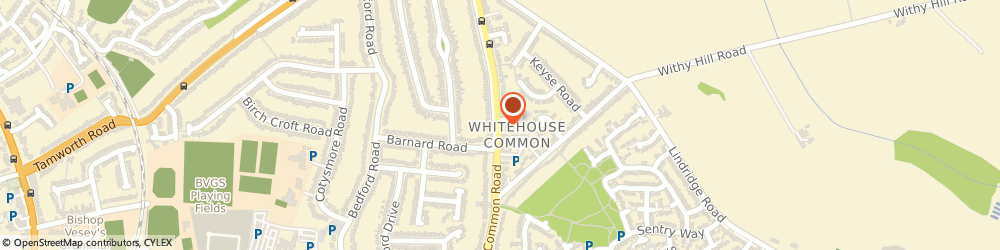 Route/map/directions to Orchard House, B75 6DS Sutton Coldfield, 126 Whitehouse Common Road