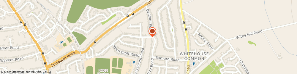 Route/map/directions to Eaton Accountants Ltd, B75 6BT Sutton Coldfield, 5 HONEYBORNE ROAD