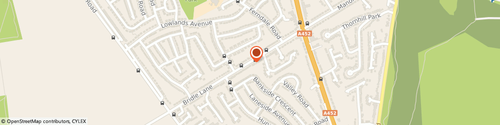 Route/map/directions to Beacon Garage Doors, B74 3HF Sutton Coldfield, 74 Bridle Lane