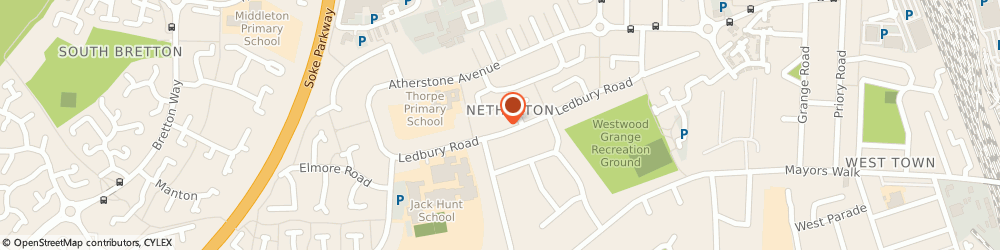 Route/map/directions to Peterborough Travel Consultants, PE1 1PY Peterborough, 14 The Arcade Westgate