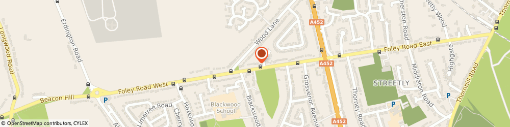Route/map/directions to Peter Lickiss, B74 3NS Sutton Coldfield, 126, FOLEY ROAD WEST