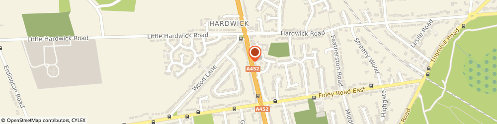 Route/map/directions to FOUR OAKS COMMERCIAL LIMITED, B74 3ED Sutton Coldfield, 318 Chester Road, Streetly