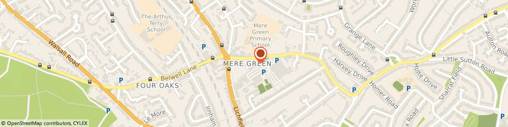 Route/map/directions to Park Electrical Installations Ltd, B75 5BS Sutton Coldfield, 18 Mere Green Rd, Carlton House
