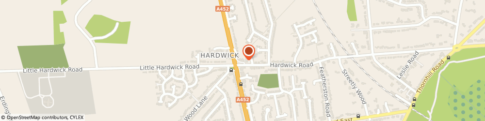 Route/map/directions to Thresher, B74 3DP Sutton Coldfield, 126, HARDWICK ROAD