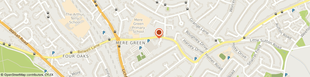 Route/map/directions to The Removal Group, B75 5BT Sutton Coldfield, 46-48 Mere Green Rd