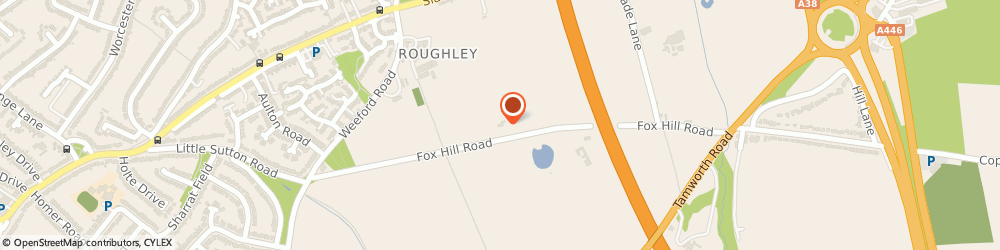 Route/map/directions to SOLIHULL MEAT COMPANY LIMITED, B76 1JS Sutton Coldfield, The Chase, Foxhill Road, Mere Green