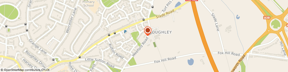 Route/map/directions to Holiday Lettings Taxation Services Limited, B75 5RN Sutton Coldfield, Vesey Grange, Weeford Road