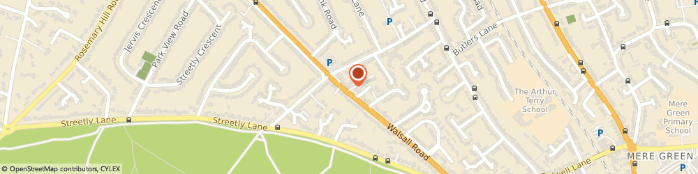 Route/map/directions to Sharon Hilton Sports Massage, B74 4QY Sutton Coldfield, 64 Walsall Rd