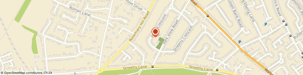 Route/map/directions to ecoPlumb, B74 4PW Sutton Coldfield, 11 Jervis Crescent