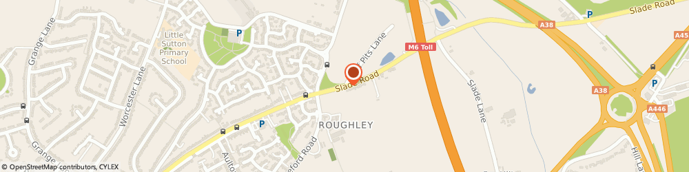 Route/map/directions to Protek Security, B75 5PE Sutton Coldfield, 212, Slade Rd