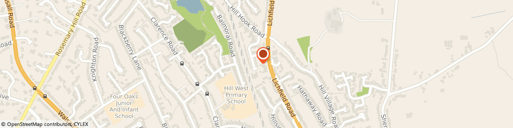 Route/map/directions to Mrs Judy Howell - Psychotherapist, B74 4ER Sutton Coldfield, 41 Badgers Bank Rd