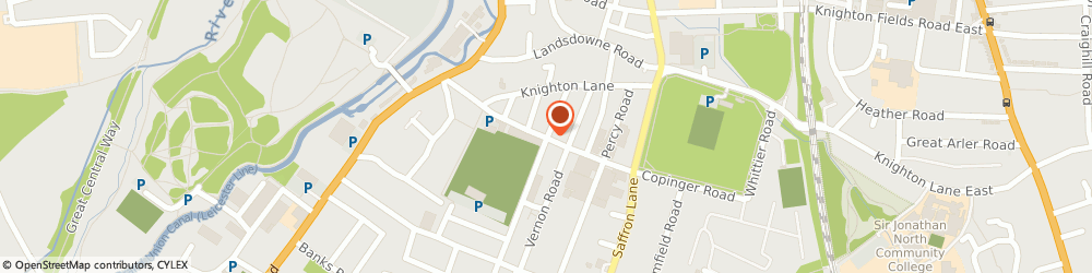 Route/map/directions to Basic Thinking Ltd, LE2 8AZ Leicester, 106 Grace Rd