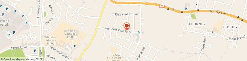 Route/map/directions to Classic Wine Cellar, LE5 6PX Leicester, 53 Welland Vale Rd