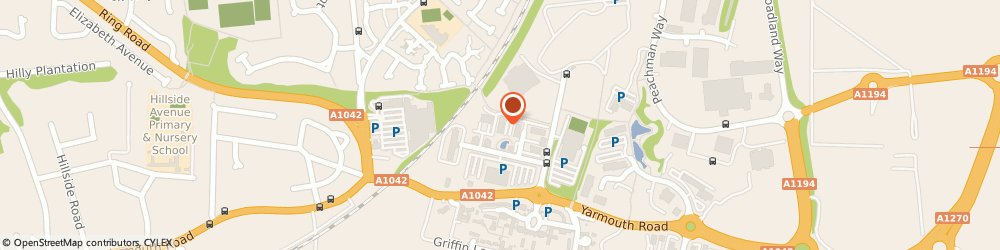 Route/map/directions to Price Bailey Chartered Accountants, NR7 0HR Norwich, 20 Central Avenue, St Andrews Business Park