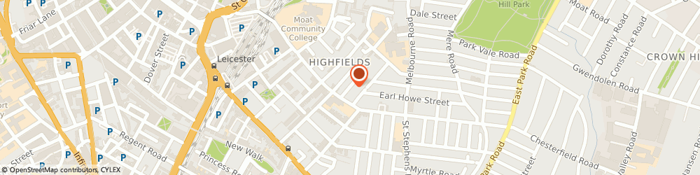 Route/map/directions to Highfield Community Nursery & Training Centre, LE2 0SA Leicester, 5-7 EVINGTON STREET