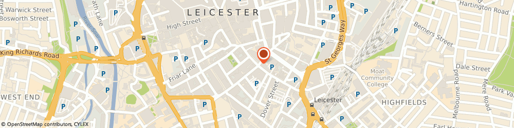 Route/map/directions to Select Education, LE1 1DH Leicester, SECOND FLOOR 52 GRANBY ST