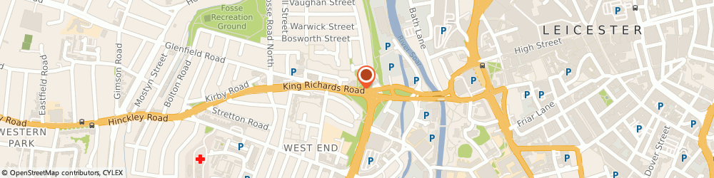 Route/map/directions to Boulevard Antiques, LE3 5QG Leicester, 63, KING RICHARDS ROAD