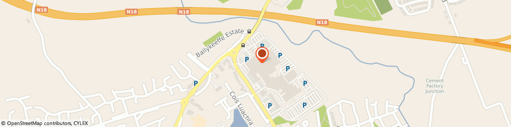 Route/map/directions to Specsavers Crescent Centre - Limerick,  Limerick, 18X Garryowen Mall