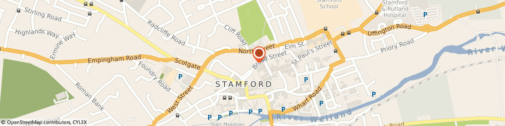 Route/map/directions to Anstee & Co, PE9 1PG Stamford, The Grey House, 3, Broad St