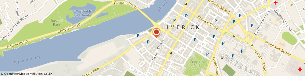 Route/map/directions to Domino's Pizza - Limerick - Mount Kennett Place,  Limerick, Unit 5 Mount Kennett Place