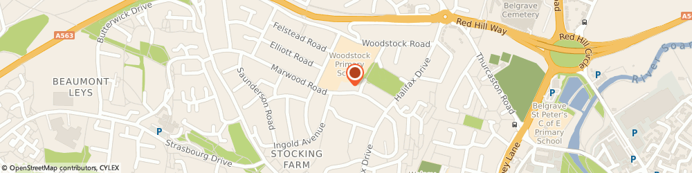 Route/map/directions to Woodstock Information Technology Centre, LE4 2EL Leicester, MARWOOD RD, THE WOODSTOCK CENTRE