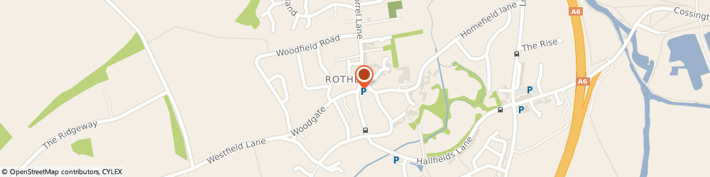 Route/map/directions to Select Convenience Rothley, LE7 7LL Leicester, 1 Woodgate