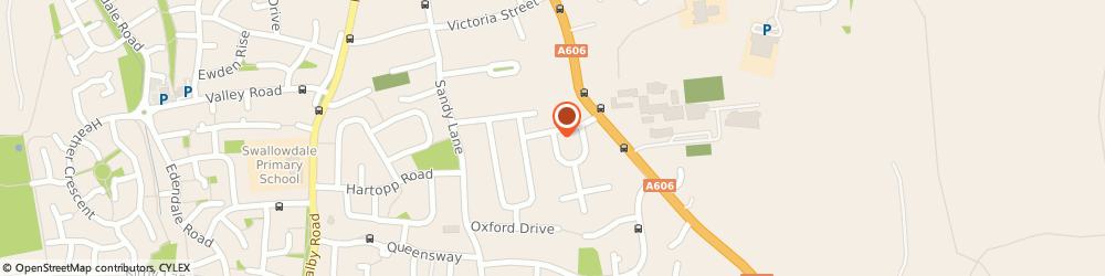 Route/map/directions to Lesley Glover, LE13 0AQ Melton Mowbray, 29 Gloucester Crescent