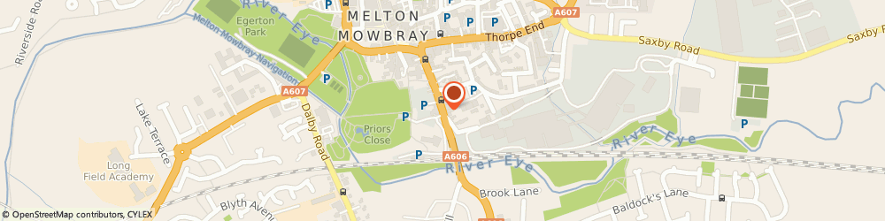 Route/map/directions to RUTLAND EARLY YEARS AGENCY LIMITED, LE13 1AF Melton Mowbray, 22A Burton St