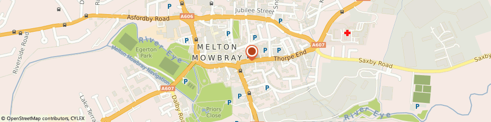Route/map/directions to Colemans Tobacconist, LE13 1XH Melton Mowbray, 13 SHERRARD STREET