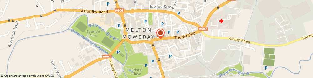 Route/map/directions to A Coleman, LE13 1XH Melton Mowbray, 13 SHERRARD ST