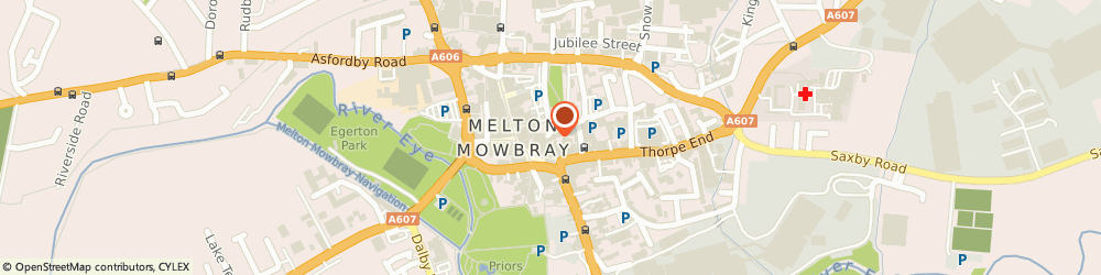Route/map/directions to Melton Antiques & Collectables, LE13 1XB Melton Mowbray, 60 King Street