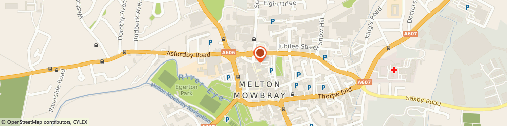Route/map/directions to Melton Mowbray Building Society, LE13 1NW Melton Mowbray, 18 Nottingham St