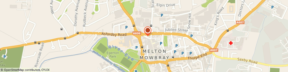Route/map/directions to Taylorcocks Wealth Management MELTON MOWBRAY, LE13 1TX Melton Mowbray, Park Road