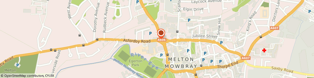 Route/map/directions to Landmark Electrical Supplies Limited, LE13 1TT Melton Mowbray, 26 Park Road
