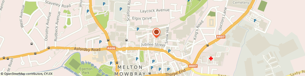 Route/map/directions to Goodlife Health Clubs, LE13 1ND Melton Mowbray, 4 Jubilee Street