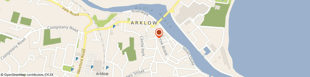 Route/map/directions to MAGUIRE SKIP HIRE LIMITED, Y14 Arklow, 16 Lower Main Street