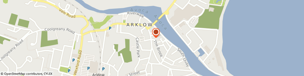 Route/map/directions to MUSIC MATTERS, Y14 F5P2 Arklow, 77 Lower Main Street