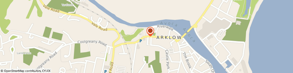 Route/map/directions to J ANNESLEY SON, Y14 C3F2 Arklow, 50 Main Street
