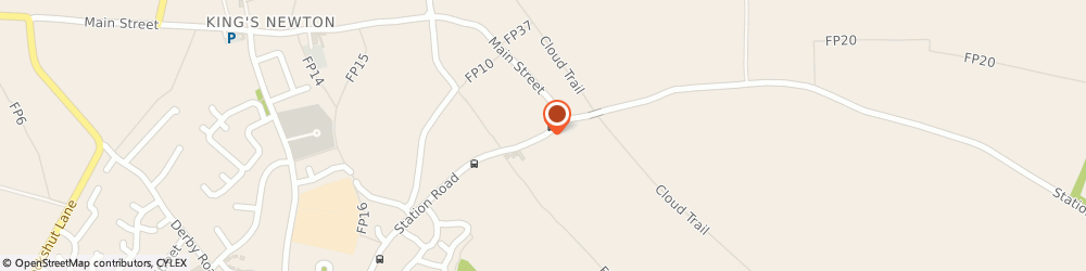 Route/map/directions to Drainage Donington Emergency Blocked Drain Cleaning Donington Services, DE73 1BQ Donington, STATION ROAD