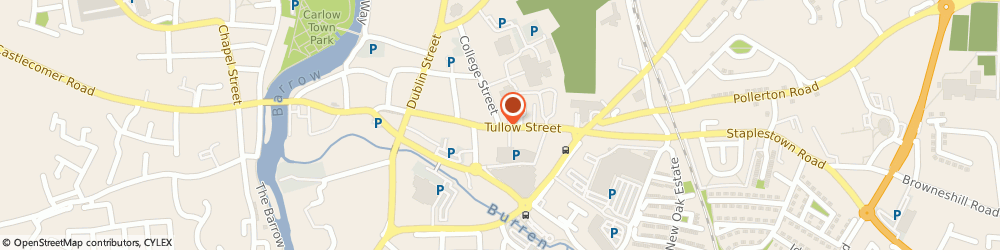 Route/map/directions to PADDY CARROLL Carlow, CO CARLOW,  Carlow, Tullow St