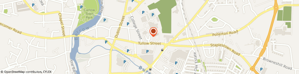 Route/map/directions to Jontoms,  Carlow, 8-11 TULLOW STREET