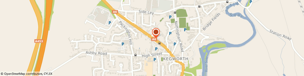Route/map/directions to Ms Chrissie Hosking - Psychotherapist, DE74 2EN Derby, DERBY ROAD