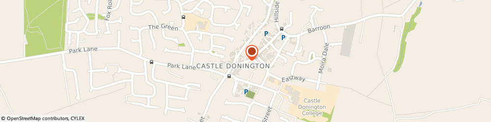 Route/map/directions to NLP UK Training, DE74 2JB Derby, The Old Vicarage, Market Street, Castle Donington