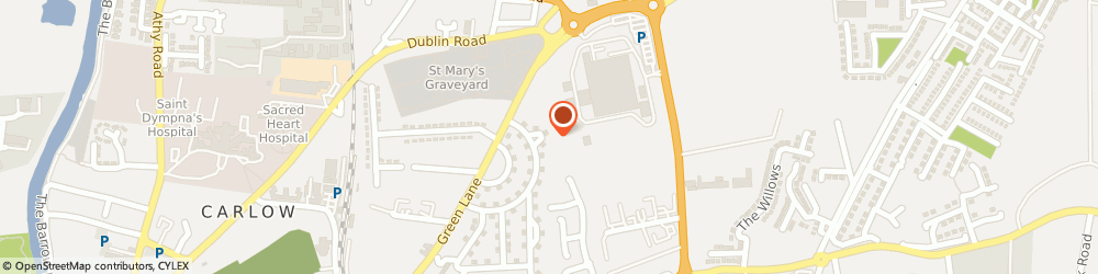Route/map/directions to Foley Michael,  Carlow, 40 Sycamore Rd