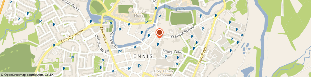 Route/map/directions to EYE CANDY OPTICIANS, V95 Ennis, 25 Abbey Street