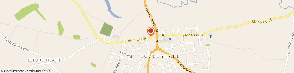 Route/map/directions to Francesco Group - Eccleshall, ST21 6BZ Stafford, 18 High Street
