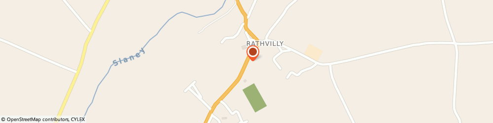 Route/map/directions to Halligan J Funeral Director,  Carlow, RATHVILLY